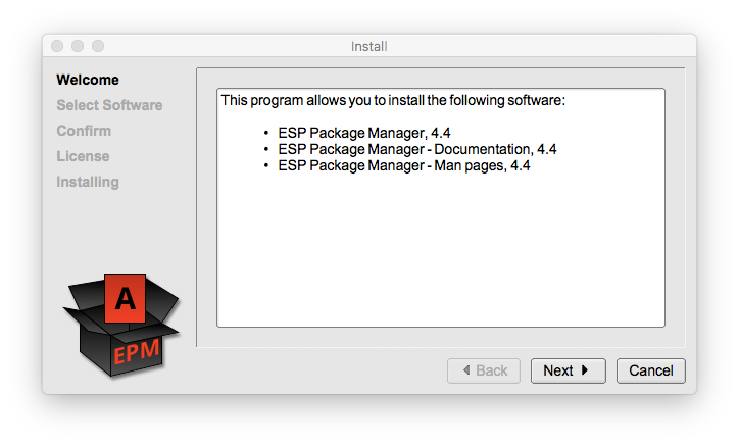 Software Distribution with ESP Package Manager